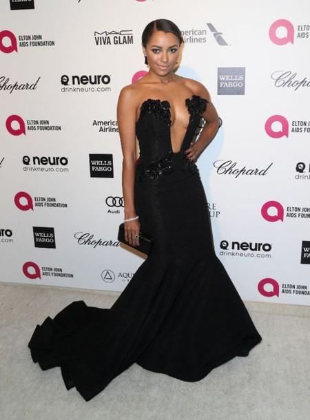dress gown kat graham bustier dress red carpet dress