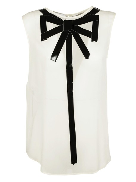 Moschino blouse bow top