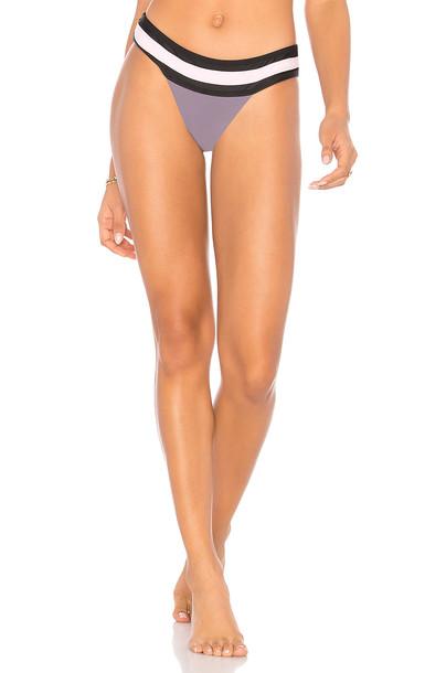 PilyQ bikini purple swimwear