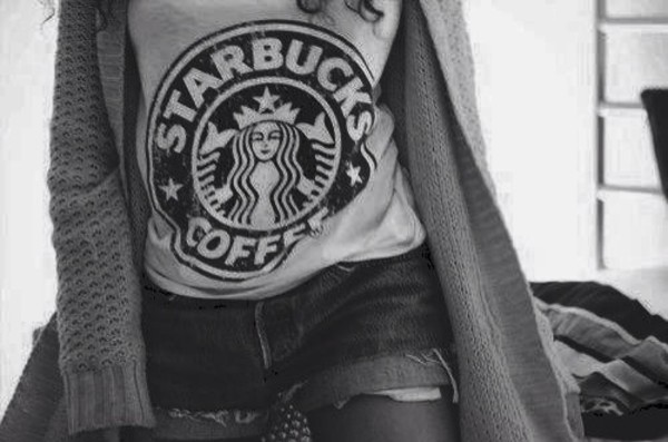 shirt tank top t-shirt starbucks coffee
