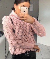 cardigan,knit,winter outfits,knitwear,pink,winter sweater,sweater,woolen sweater,wool sweater
