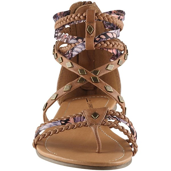 Call It Spring(TM) Galeana Beaded Gladiator Sandals - Polyvore