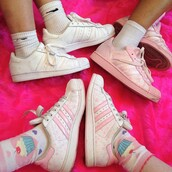 shoes,cute,adidas,adidas shoes,adidas superstars,pastel sneakers
