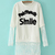 Long Sleeve Fashion Straight Round Neck Common Sweatshirt : KissChic.com