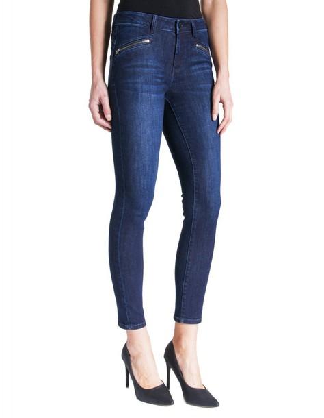 Liverpool jeans dark jeans vintage zip dark