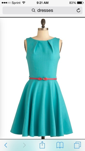 dress real/baby blue dress