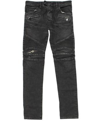 jeans ripped black biker jeans menswear ripped jeans biker