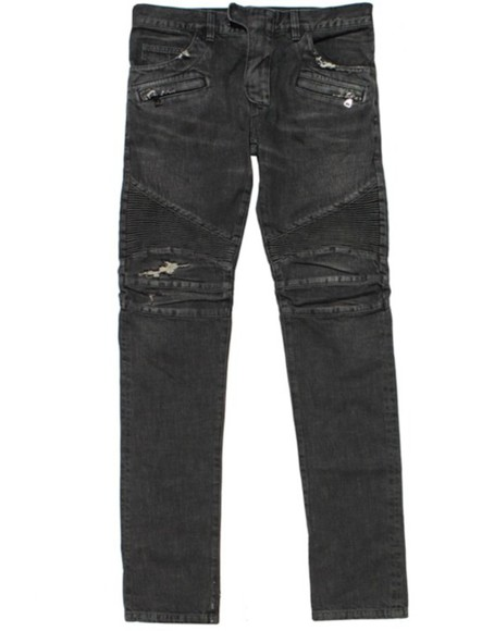 ripped jeans jeans distressed distressed jeans menswear black biker jeans biker