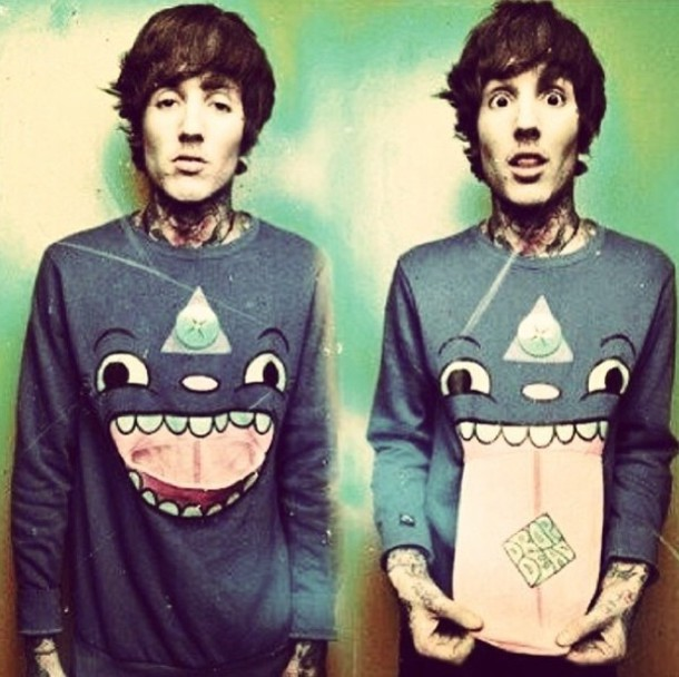 sweater, drop dead clothing, drop dead clothing, oliver ...