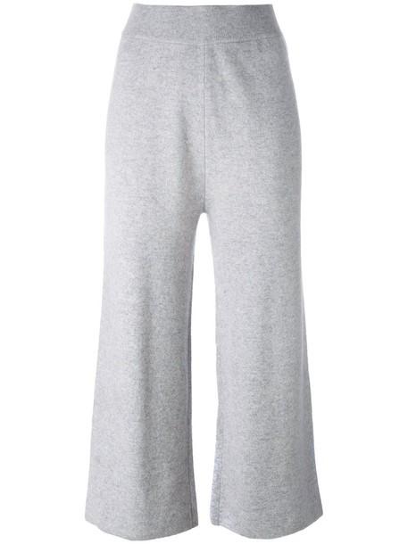 Le Kasha women knit grey pants