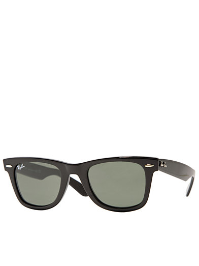 Rb 2140 Original Wayfarer - Ray Ban - Black/Green - Solglasögon - Accessoarer - Kvinna - Nelly.com