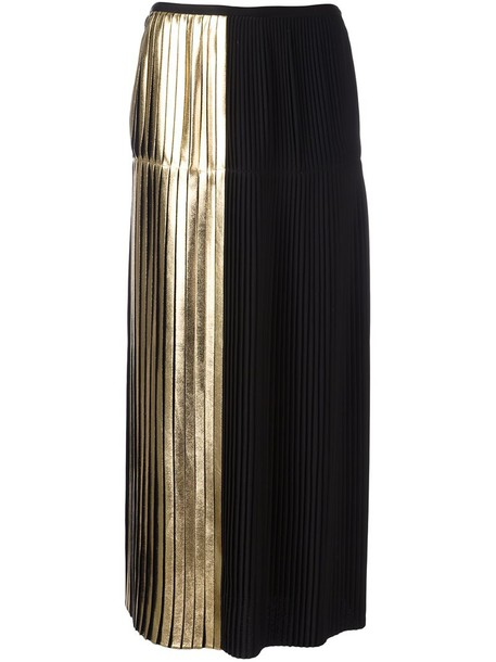 Stella McCartney skirt pleated skirt pleated women black