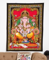 shorts,hindu,tapestry,bedroom,dope,elephant