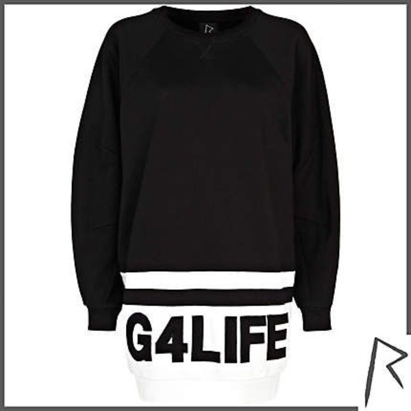 black sweater g4life