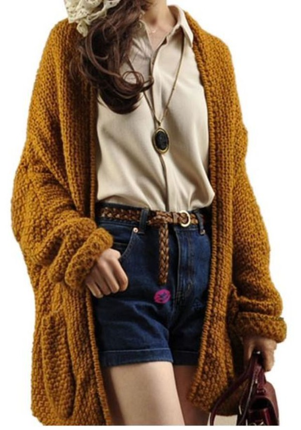 Sweater: cardigan, cardigan, open front sweater, open front ...