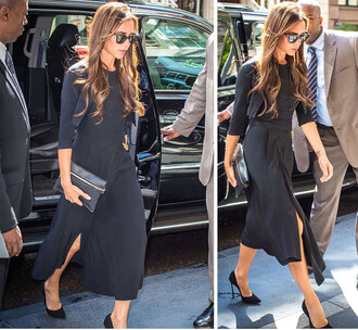 dress victoria beckham bag shoes