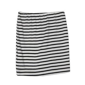 Striped Mini Skirt on Wanelo