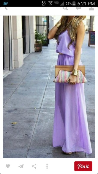 dress maxi dress purple dress summer dress