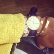 fashionhippieloves,jacket,jewels,jeans,yellow jacket,watch,bracelets