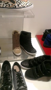 shoes,platform shoes,high top sneakers,sneakers,platform sneakers,wedge sneakers,wedges