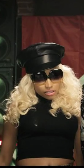 hat black hat nicki minaj