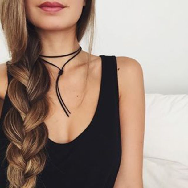 jewels choker necklace black jewelry black choker wrap choker bolo necklace necklace