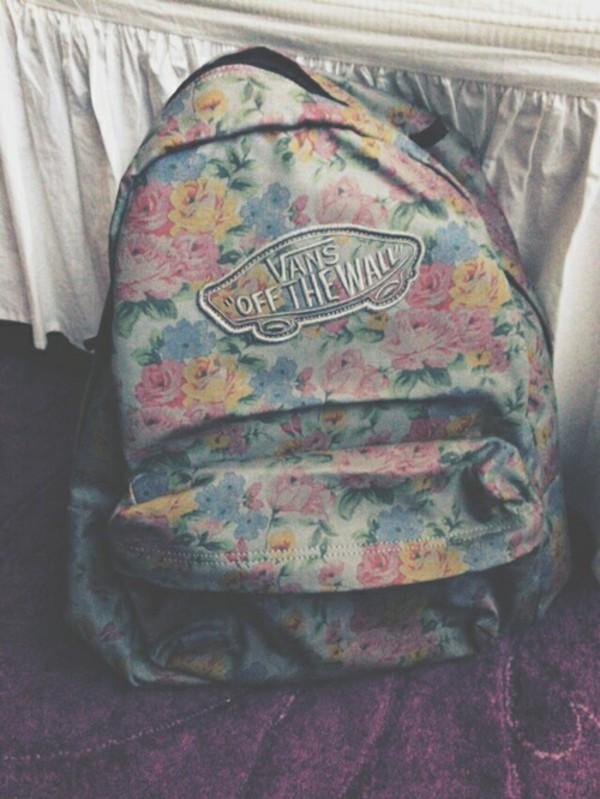 vans vintage backpack