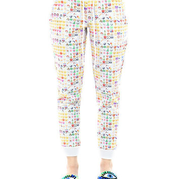 EMOJI SWEATPANTS on Wanelo