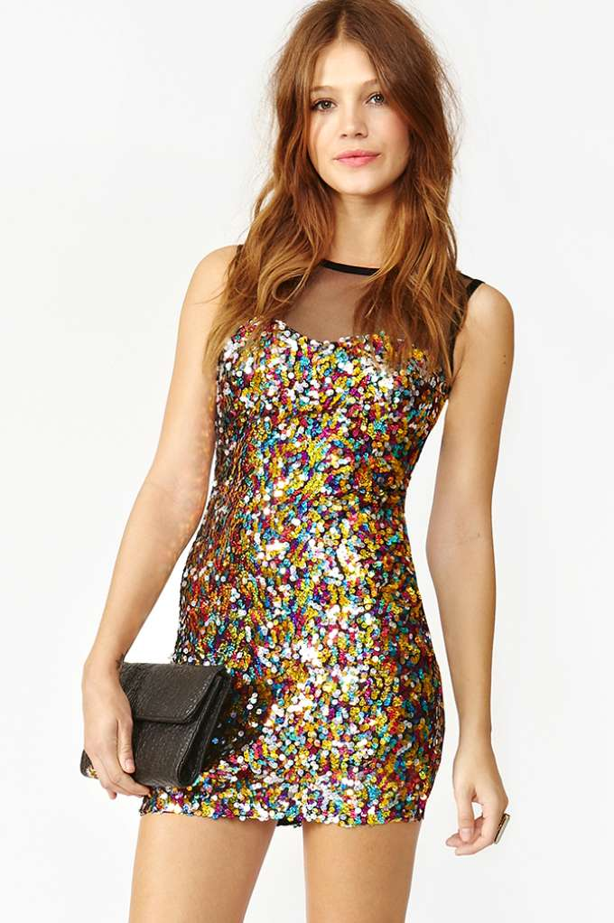 Confetti Sequin Dress | Shop Clothes at Nasty Gal