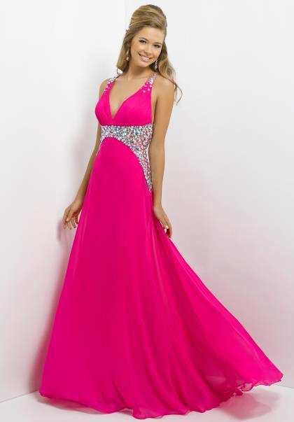 Blush dress 9708