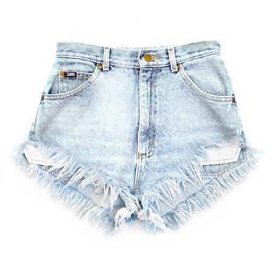 Original 320 Lite Fray Shorts - Arad Denim