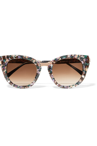 rose gold rose sunglasses gold pink