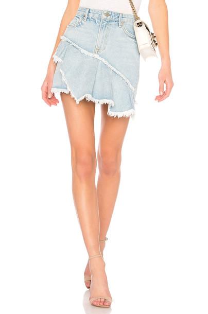 GRLFRND skirt ruffle