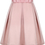 Pink Bow Pleated Skirt - Sheinside.com