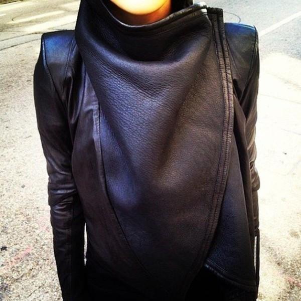 jacket clothes black leather jacket jacket