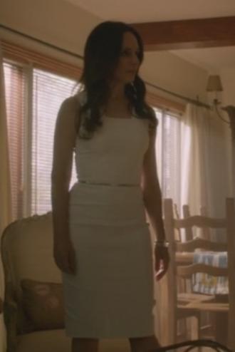 victoria grayson madeleine stowe revenge white dress