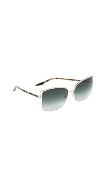 Barton Perreira sunglasses gold