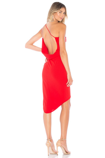 Katie May Bananas Dress in red