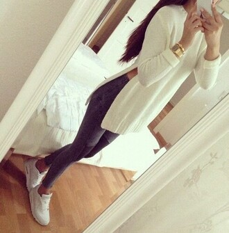 luxury white nike pants gold brunette fashion style selfie bedrooms mirror pink jeans shoes