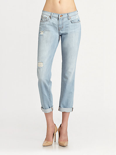 J Brand - Aidan Boyfriend Jeans - Saks.com