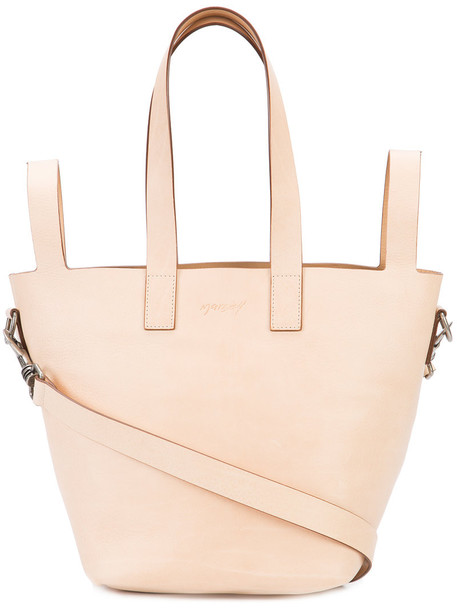 women leather nude bag