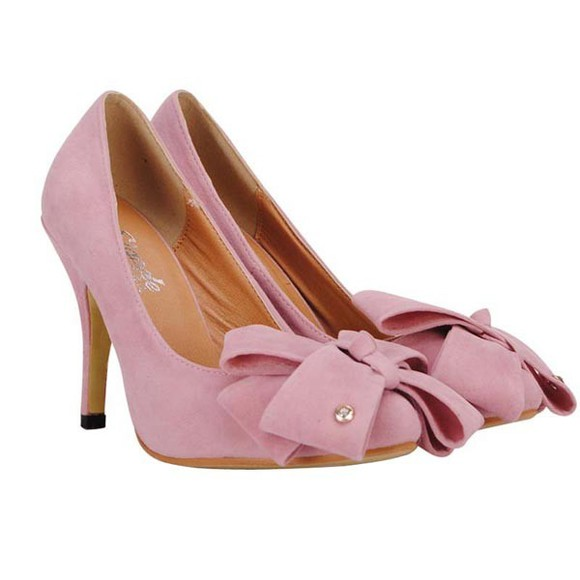 shoes women's bowknot thin high heel banggood