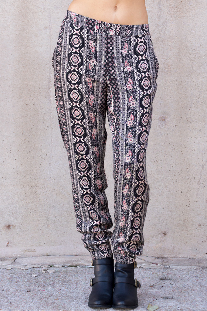 Street fair tribal trouser pant – luv mint
