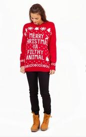 merry,christmas sweater,christmas,boho,snow,tree,snowflake,pattern,stripes,polka dots,heart,ya,filthy,animal,home decor,alone,movie,life,cozy,ugly christmas sweater
