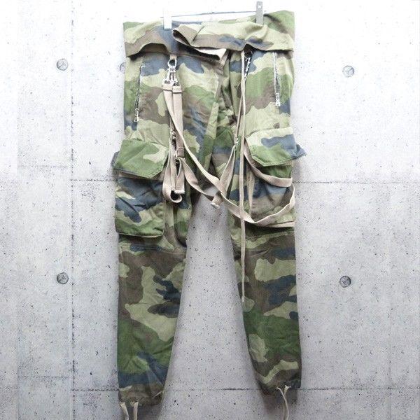 Balmain Homme Camo Parachute Cargo SS11 Jeans Pants Rick RARE Size x Large | eBay