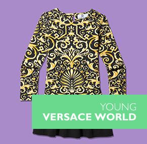 Versace - Palazzo High-Top Trainers