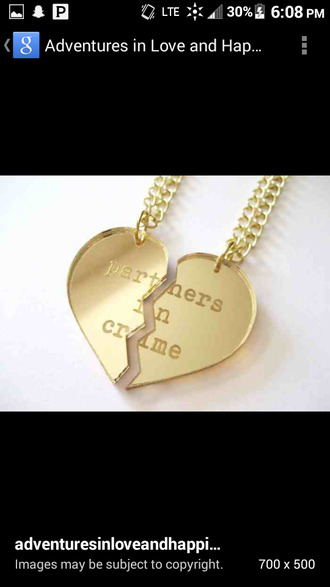 jewels bestfriend necklace