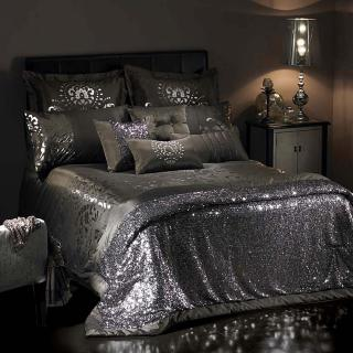 Kylie minogue at home labyrinth bed linen