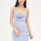 Hot and hotter draped halter dress blue purple - gojane.com