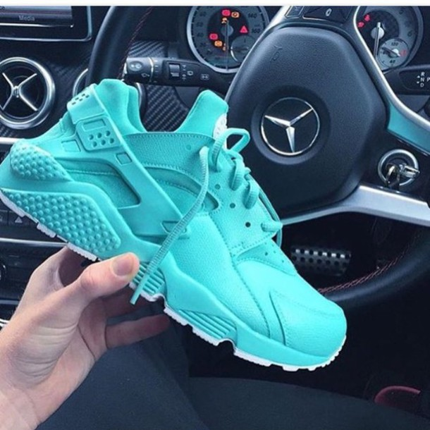 new arrival 0bf7d 6c0e3 shoes nike air huaraches blue nike huarache turquoise basket summer